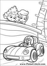 Dibujos para pintar y Color Bubble Guppies