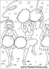 Pintar e Colorir Carnaval - Desenho 001