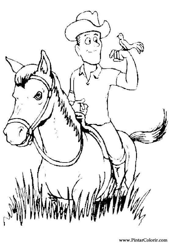 Paarden Kleurplaat Spirit Drawings To Paint Amp Colour Horses Print Design 004