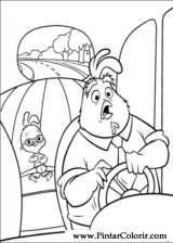 Pintar e Colorir Chicken Little - Desenho 005