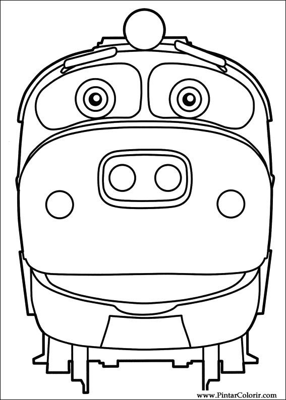 005 for Chuggington coloring pages