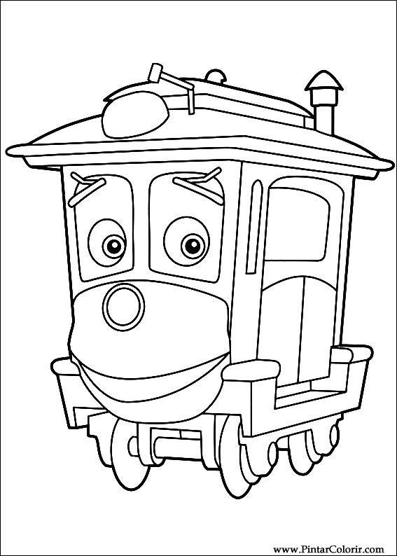 Chuggington Coloring Pages Pdf : Desenhos para pintar e colorir chuggington imprimir
