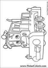 Pintar e Colorir Chuggington - Desenho 006