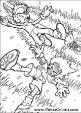 Pintar e Colorir Digimon - Desenho 010