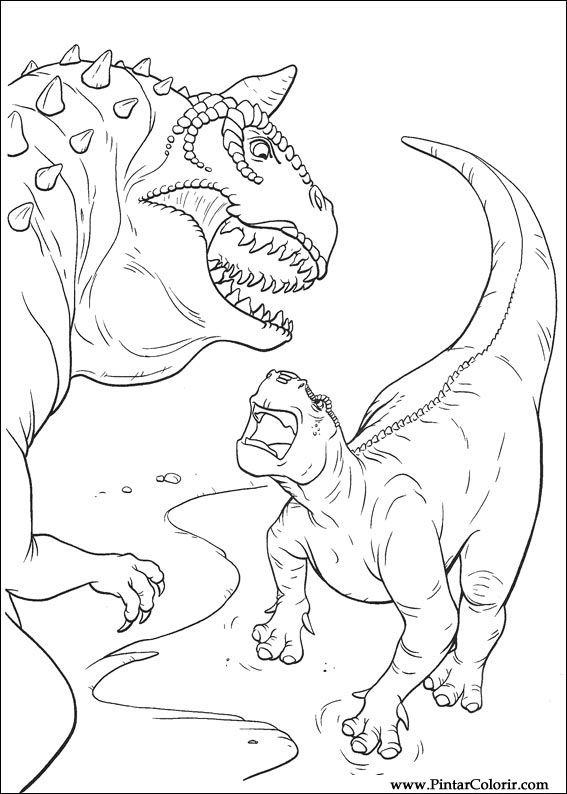 disney dinosaur coloring pages | Carnotaurus Coloring Pages Coloring Pages