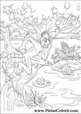 Pintar e Colorir Dinossauro - Desenho 035