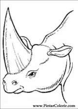 Pintar e Colorir Dinossauro - Desenho 063
