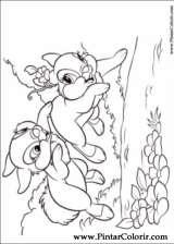 Pintar e Colorir Disney Bunnies - Desenho 001