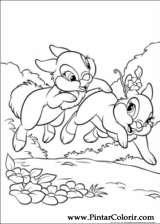 Pintar e Colorir Disney Bunnies - Desenho 019