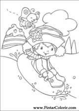 Pintar e Colorir Docinho De Morango - Desenho 047