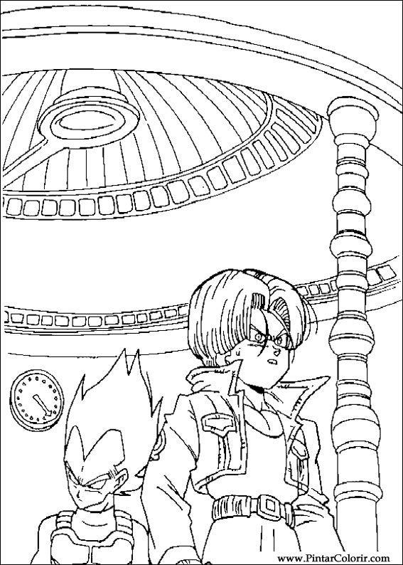desenho para colorir da dragon ball z goten para imprimir car pictures