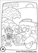 Pintar e Colorir Engie Benjy - Desenho 005