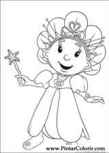 Pintar e Colorir Fifi Flowertots - Desenho 002