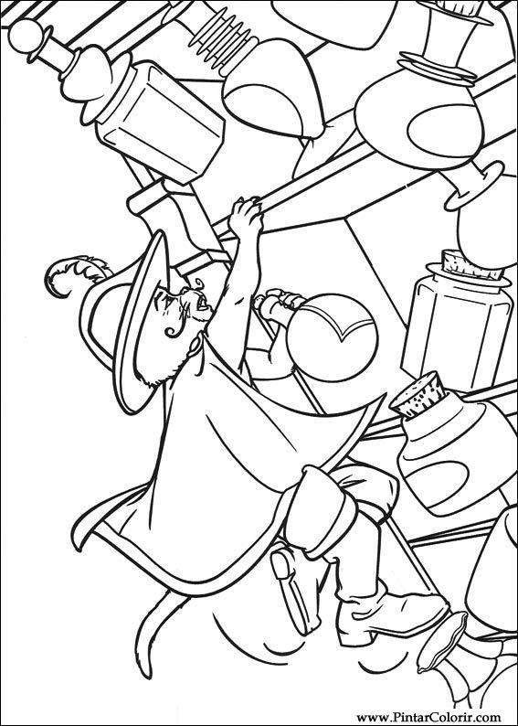 Kleurplaat Kater Desenhos Para Pintar E Colorir Gato De Botas Imprimir