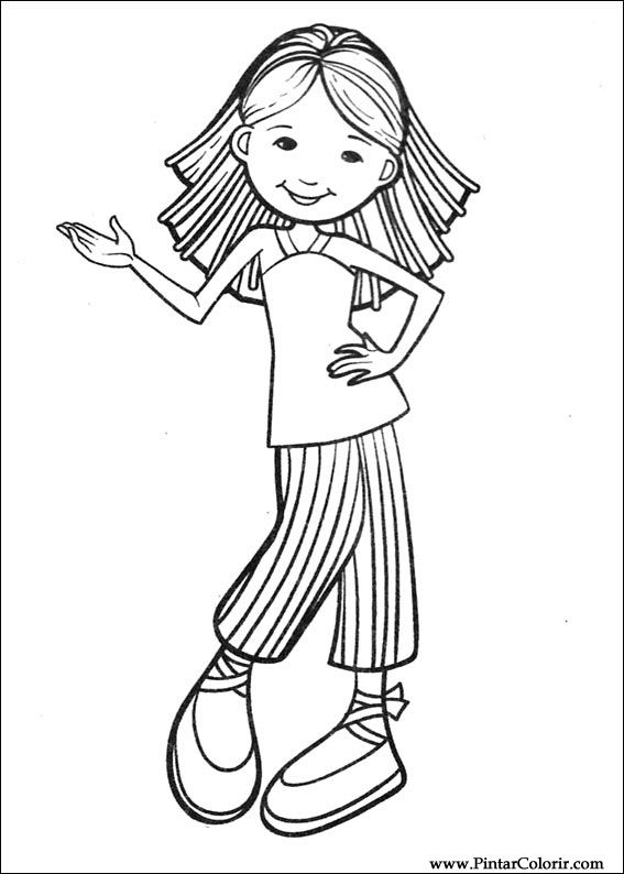 Groovy Girls 56 Coloring Page - Free Groovy Girls Coloring Pages ... | 794x567