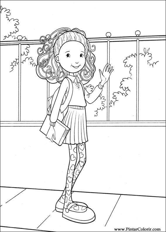groovy girl. coloring page groovy girl coloringme - rubixinc.us