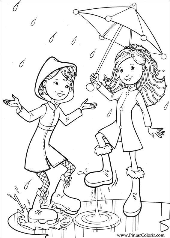 199 Izimler Boya Ve Renk Groovy Kızlar I 231 In Baskı Tasarım 043