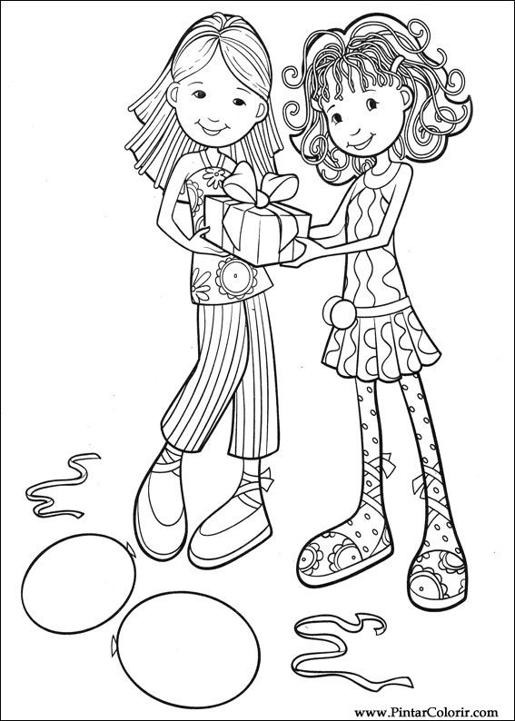 printable groovy girls coloring pages - photo#39