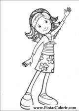 Pintar e Colorir Groovy Girls - Desenho 004