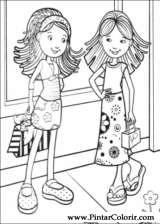 Pintar e Colorir Groovy Girls - Desenho 006
