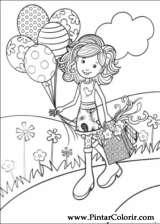 Pintar e Colorir Groovy Girls - Desenho 007