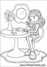Pintar e Colorir Groovy Girls - Desenho 008