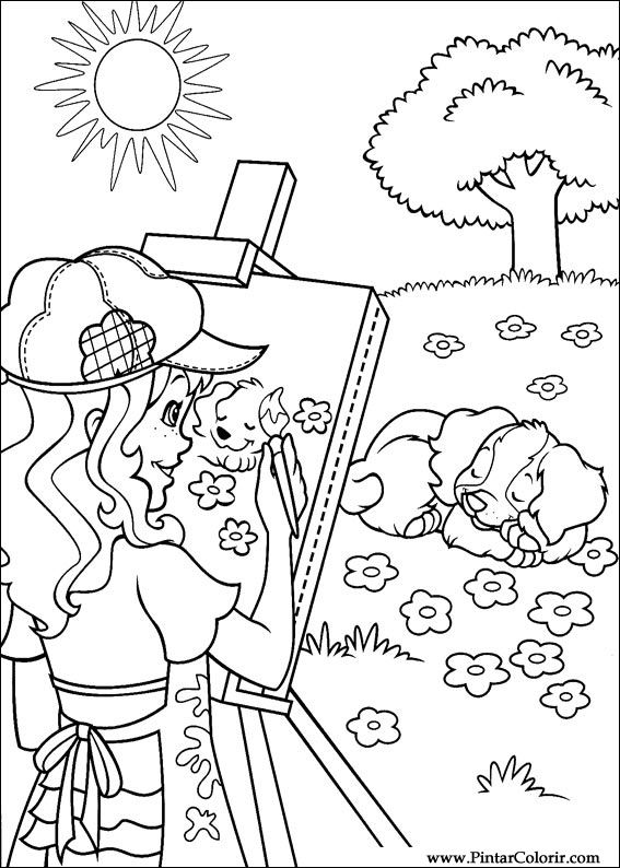 hobbies coloring pages - photo#1
