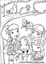 Pintar e Colorir Holly Hobbie - Desenho 018