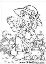 Pintar e Colorir Holly Hobbie - Desenho 037