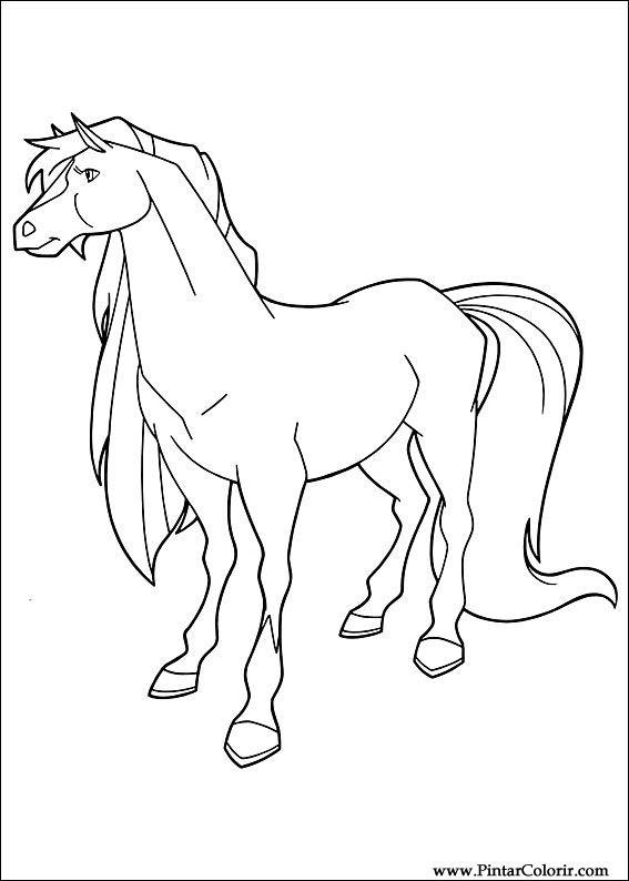 Dibujos para pintar y colorear Horseland - Página 2