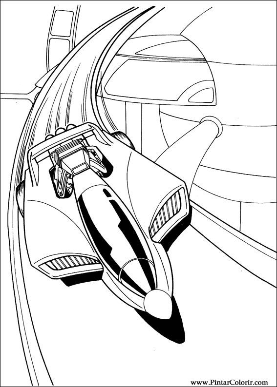 Disegni per dipingere colour hot wheels stampare for Hotwheels coloring pages