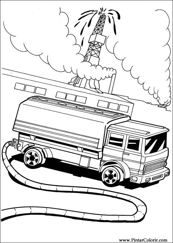 Dibujos para pintar y Color Hot Wheels  Diseo de impresin 038