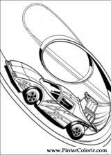 Pintar e Colorir Hot Wheels - Desenho 010