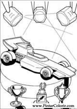 Pintar e Colorir Hot Wheels - Desenho 015