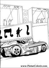 Pintar e Colorir Hot Wheels - Desenho 023