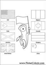Pintar e Colorir Jogos Olimpicos - Desenho 002