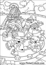 Pintar e Colorir Kids Next Door - Desenho 008
