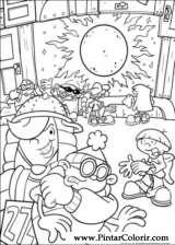 Pintar e Colorir Kids Next Door - Desenho 009