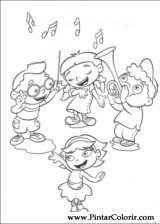 Pintar e Colorir Little Einsteins - Desenho 001