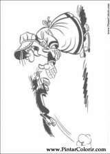 Pintar e Colorir Lucky Luke - Desenho 018