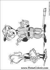 Pintar e Colorir Lucky Luke - Desenho 038