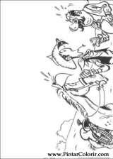 Pintar e Colorir Lucky Luke - Desenho 057