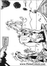 Pintar e Colorir Lucky Luke - Desenho 062