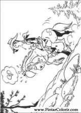 Pintar e Colorir Lucky Luke - Desenho 063