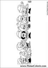Pintar e Colorir Mafalda - Desenho 005