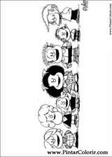 Pintar e Colorir Mafalda - Desenho 012