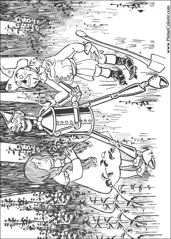 Dibujos para pintar y Matiz Mago de Oz - Página 2
