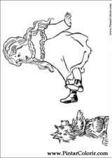 Pintar e Colorir Magico De Oz - Desenho 002
