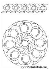 Pintar e Colorir Mandalas - Desenho 002