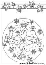 Pintar e Colorir Mandalas - Desenho 006